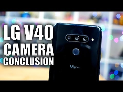 LG V40 Camera Review: Just the Conclusion - YouTube