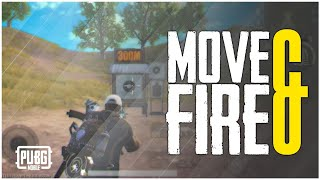 HOW TO DO MOVE AND FIRE IN PUBG MOBILE [ HINDI ]  | CLOSE FIGHT GUIDE #1