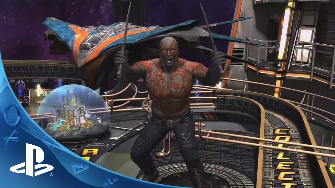 Zen Pinball 2 Guardians Of The Galaxy Announce Trailer