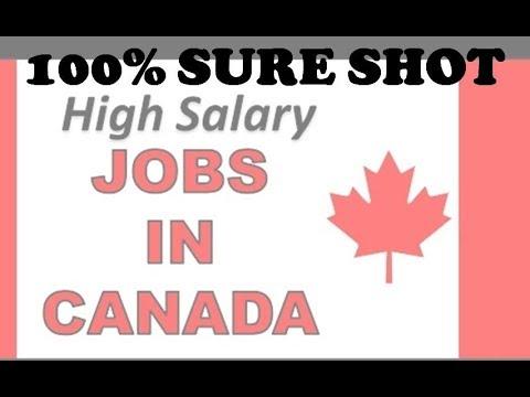 100% GUARANTEED JOBS IN CANADA, कनाडा में 100% गारंटीकृत नौकरियां