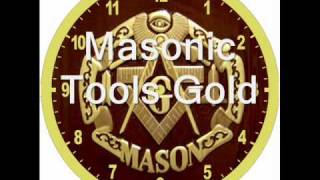 Masonic Designs Wall Clock