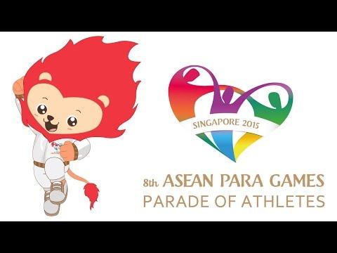 8th ASEAN Para Games - Opening Ceremony - Parade of Athletes