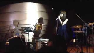 moumoon Live performing @J MUSIC LAB Jakarta 20131123.