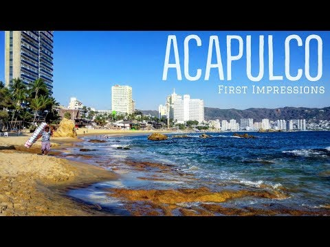 🇲🇽ACAPULCO | MEXICO'S Most DANGEROUS CITY? | FIRST IMPRESSIONS | MEXICO TRAVEL 2019