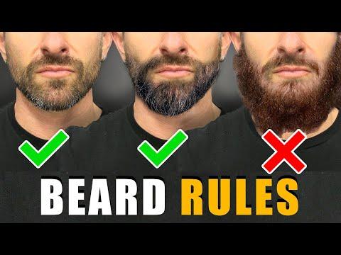 7 Beard Rules