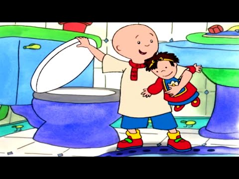 Funny Animated cartoon   Caillou and the Doll  WATCH CARTOON ONLINE  Cartoon for Children