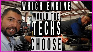Which engine a FORD service tech picks in 2019(its a unanimous decision)