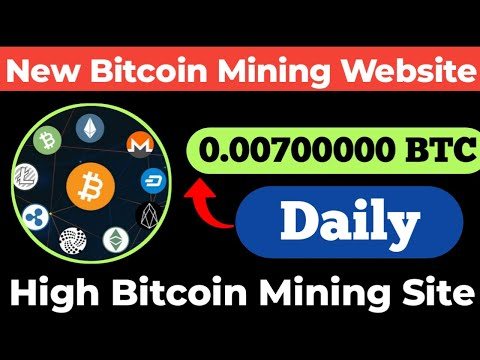 New Bitcoin Mining Site || New Earning Site 2020 || Free Bitcoin Miner