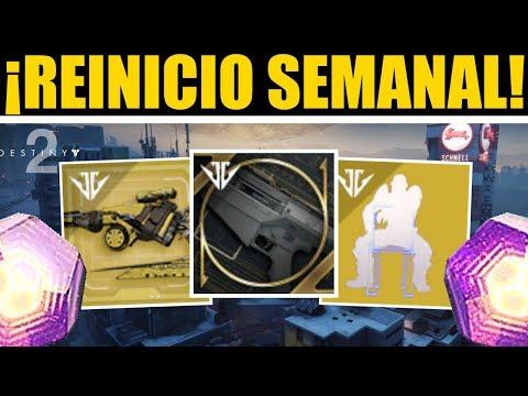 Destiny 2 - Reinicio Semanal! Moldes! Ascendente! Ocasos! Loot Poderoso! Eververso! 22 de Enero thumbnail