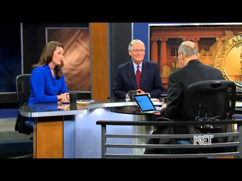 Kentucky U.S. Senate Candidates Grimes and McConnell | Kentucky Tonight | KET