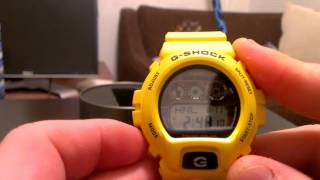 Casio G-Shock Watch Review: GW6900A-9 Yellow Multi band 6 Atomic Solar