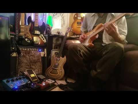 Khruangbin Misc. Cover Mark Speer Fender Stratocaster Out Of Phase Guitar Build (dynamic Sound Test)