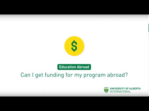 Can I get funding for my program abroad?