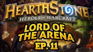 Late Night Hearthstone: Lord of the Arena - Episode 11