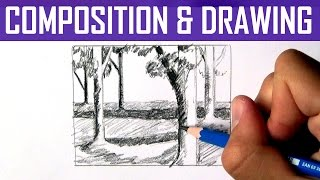 How to Create Interesting Composition in Your Drawings