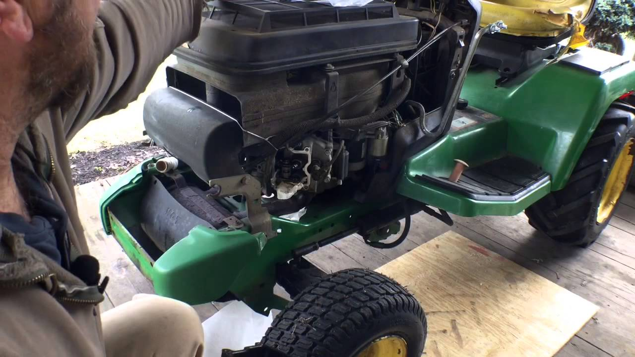 John Deere GX345 valve cover gasket replacement  YouTube