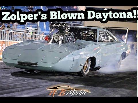 Joe Zolper's Blown Dodge Daytona at No Prep Kings at Rt. 66