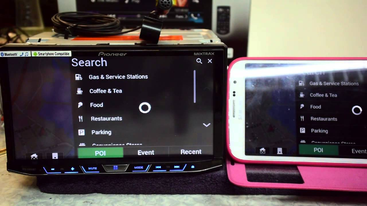 pioneer avh x8650bt appradio live for android youtube. Black Bedroom Furniture Sets. Home Design Ideas