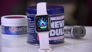 CNET How To - Remove scratches from your Apple Watch