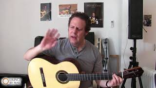 Lesson #1 Warm Up with Adam del Monte | Strings By Mail Lesson Series