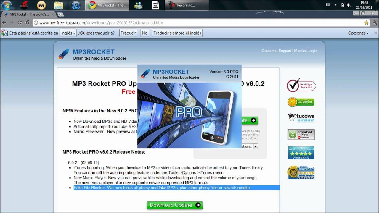 Como Descargar MP3 Rocket Pro 2011 Completo (juegosfullpc ...