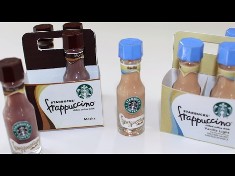 Doll Starbucks Frappuccino | DIY American Girl Doll Craft