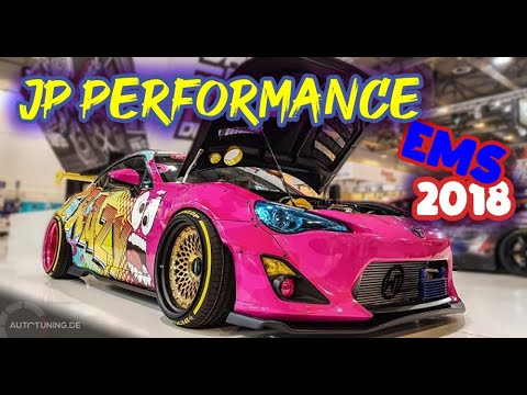 JP Performance Stand @ Essen Motor Show 2018