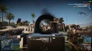 Battlefield 4 - PC Gameplay Wave Breaker 150% Resolution Scale 1080p 4670k GTX 780 Ti