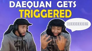 DAEQUAN GETS TRIGGERED | WHAT IS THE W GANG? | FUNNY HIGH KILL GAME -(Fortnite Battle Royale)