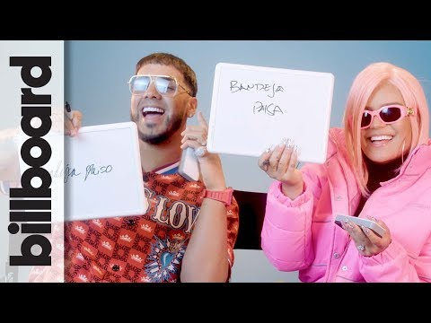 Karol G & Anuel AA Play &39;How Well Do You Know Each Other?&39;  Billboard