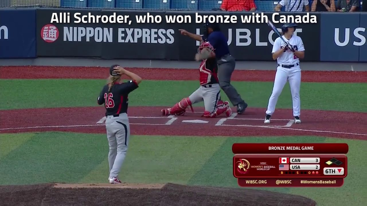 Historic: Alli Schroder set to become first female player in Canadian College Conference