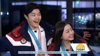 Maia & Alex Shibutani Today Show Olympic Interview | LIVE 2-20-18