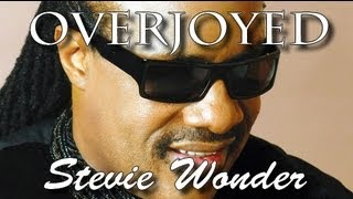 Overjoyed - Stevie wonder - Lyrics