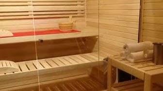 Moderní zahradní sauna NATURHOUSE