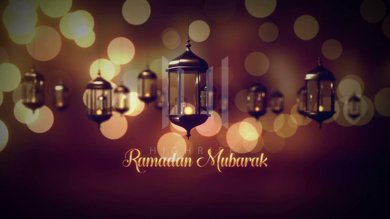 Ramadan Mubarak Greetings Video Template Download Youtube