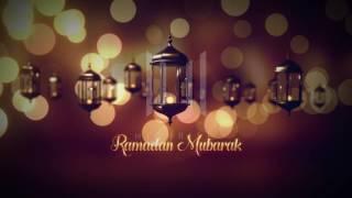 Ramadan Mubarak Greetings Video Template Download