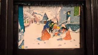 アンデルセン童話「まっちうりの少女」の紙芝居。 群馬県四万温泉「やま...