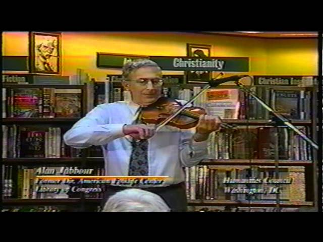 Alan Jabbour: Fiddle Tunes from the Old Frontier