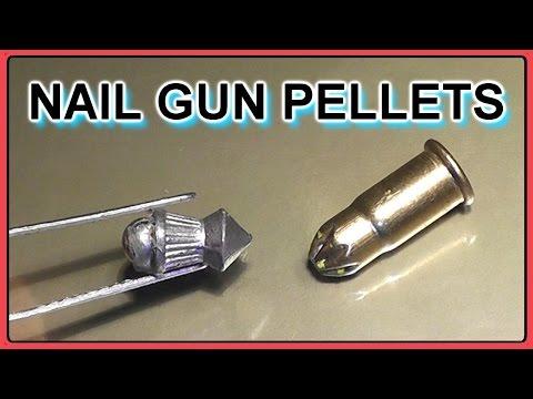 .22 Ammo for the Apocalypse - Hybrid Pellet/Nail Gun Blank rounds