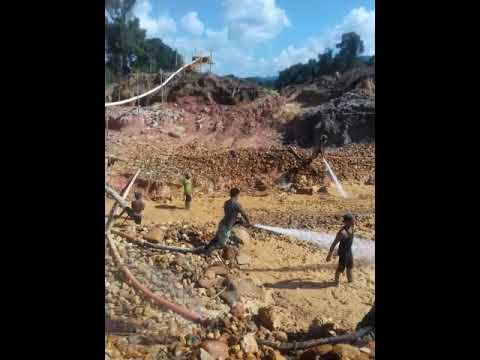 Alluvial Gold Mining and Exploration -Land Dredging