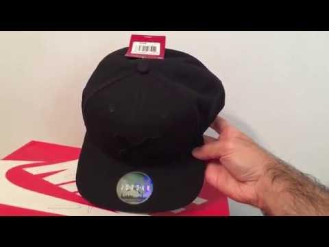 7a6750dc8cc Jordan 1 Banned Snapback Hat - YouTube
