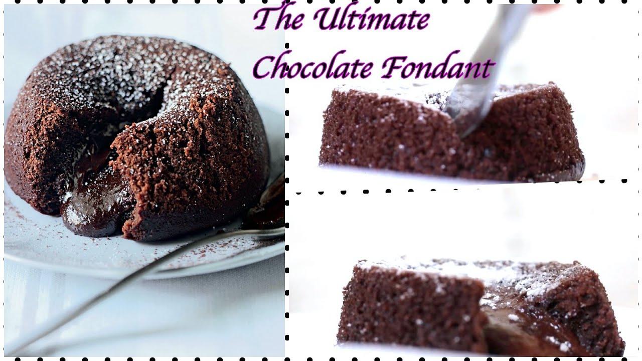 Easy Chocolate Fondant Recipe | Chocolate Lava Cake | in 15 minutes