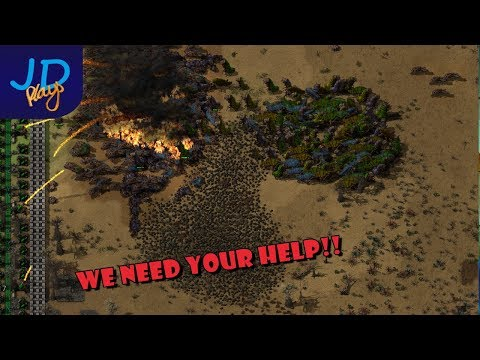 Factorio MMO Fight For Freedom Now with 50% more Oil