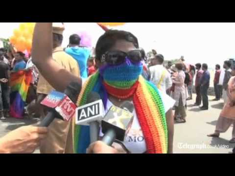Gay Pride festivals celebrate same sex marriage legislation around the world