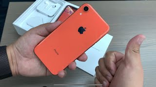 iPhone XR Coral - Unboxing & First Look!