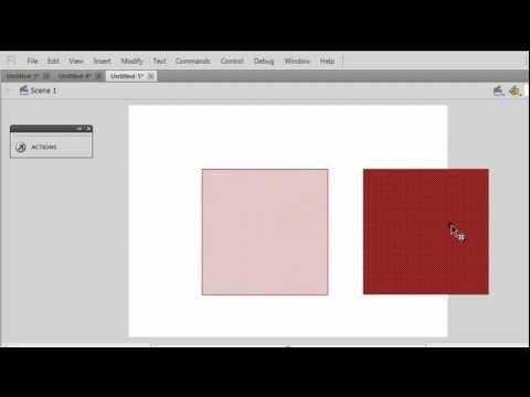 Understanding , motion tween , classic tween , shape tween and their differences in flash cs5.5