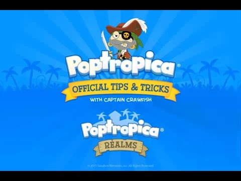 New in Poptropica Realms: sharing!