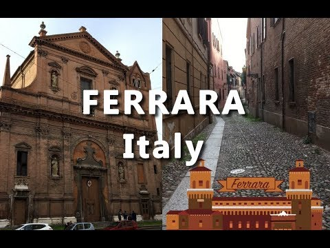 FERRARA, Italy - Discover with me !