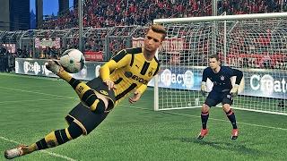 Топ лучших голов в PES 2017 на платформе PS4
