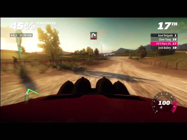 Forza Horizon Rally Montano Plains stage 3 no comment run